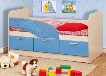 кровать дельфин 1